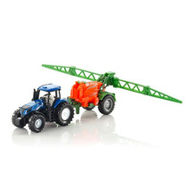 Tractor New Holland Con Fumigadora Esc. 1/87 Siku. Nuevo!