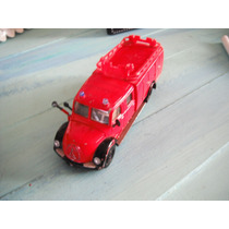 Camioncito De Bomberos En Metal Marca Siku 13.5largo-4.3cm