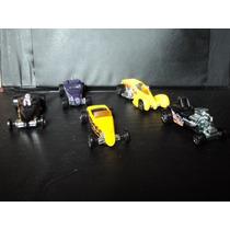 Fan Autos 1/64 Hw Set 5pzas Modificados F102