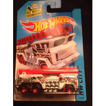 Hot Wheels 5 Alarm Blanca