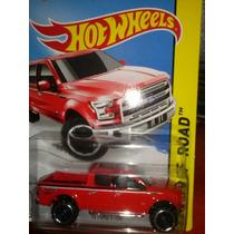Hotwheels 15 Ford F-150 Roja 2015
