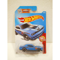 Hot Wheels 15 Dodge Challenger Srt Azul 109/250 2016
