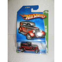 Hot Wheels T Hunt 34 Ford Rojo/negro 48/166 2009 Tl