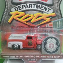 Hot Wheels Fire Departament 56 Ford Truck, Bomberos
