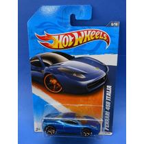 2011 Hot Wheels Faster Than Ever 11 Ferrari 458 Italia Azul
