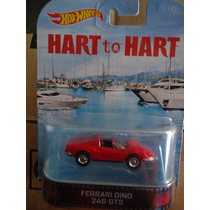 Hot Wheels Retro Ferrari Dino 246 Gts Hart To Hart