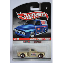 Custom 69 Chevy Pickup Hot Wheels Delivery