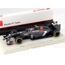 Fórmula 1 Sauber C33 Esteban Gutiérrez 2014