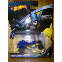 Hot Wheels Batman Batimovil Batmobile Hot Rod Dc Comics 2015