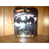 Batman Batimovil Batmobile Returns Retro 2015 Hot Wheels