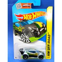 2013 Hot Wheels Fast 4wd Plata Hw Off-road