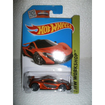 Hot Wheels Mclaren P1 Naranja 223/250 2015