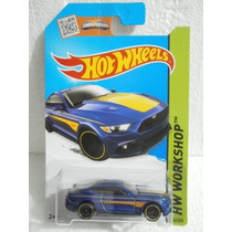 Hot Wheels 15 Ford Mustang Gt Azul 247/250 2015