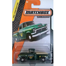 Matchbox - 57 Gmc Stepside - Caminoneta