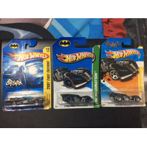Batimovil Hot Wheels Adam West, Arkham Asylum 2011 Y 2013