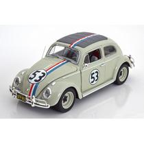 Vw 1962 Herbie Love Bug Hot Wheels Elite 1:18