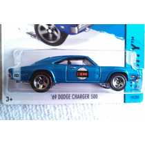 69 Dodge Charger 500 Hw City De Hotwheels 2015 # 19/250 Hemi