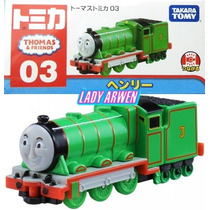 Tomica Thomas & Friends Henry Locomotora Metalica Takara