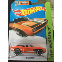 Hot Wheels 69 Camaro Naranja Convertible