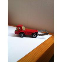 Mini Camión C Montacargas Rojo Matchbox Superfast Skip Truck