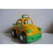 Vocho Vw Beetle Taxi - Camioncito De Juguete Carrito Escala