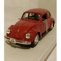 Volkswagen Beetle (vocho Rojo) Maisto Escala 1/24