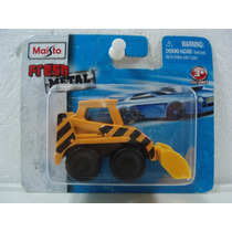 Maisto Fresh Metal Mini Excavadora Construccion Amarillo Tc