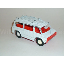 Ambulancia Rescue Van Tootsietoy Metal Plástico 0 Calcomania