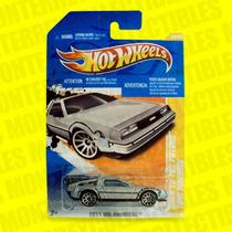 Hot Wheels Delorean Volver Al Futuro