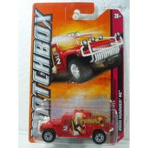 Matchbox Camioneta 2000 Hummer H1 Rojo 1:64 100/120
