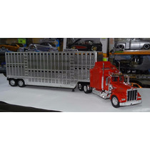 1:32 Kenworth W900 1979 C Caja Ganadera New Ray Trailer