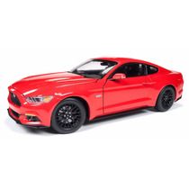 Ford Mustang Gt 2015 Greenlight / Autoworld Escala 1:18
