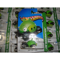 Dm Hot Wheels 2012 Angry Birds Minion Pig Hw Imagination