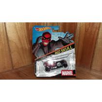 Hot Wheels Red Skull Calavera Roja Marvel 1/64