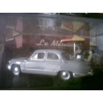 Llegaron Los Dioramas (maquetas). Tomando Cafe, Panhard Dyna