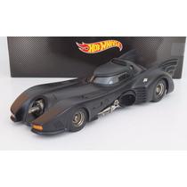 Batimobil Batman Returns 1992 M. Keaton Hot Wheels Esc 1:18