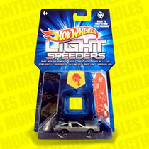 Hot Wheels Delorean Volver Al Futuro Light Speeders