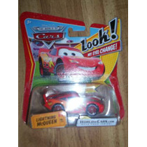 Cars Disney Pixar * Lightning Mc Queen Look My Eyes * Mattel