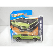 Hot Wheels 71 Mustang Boss 351 Verde 90/244 2011 Tc