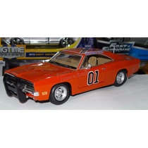 1:24 Dodge Charger 1969 General Lee Dukes Of Hazzard Custom