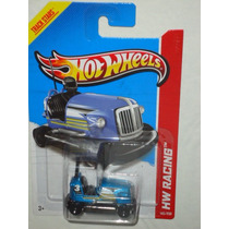 Hot Wheels Bump Around Chocon Azul