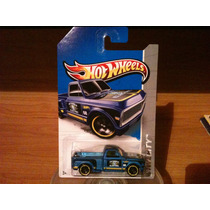 Custom ´69 Chevy Pickup Hot Wheels Basico 3 Piezas