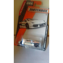 Matchbox Lamborghini Gallardo Lp560-4 Polizzia