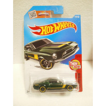 Hot Wheels Then Now 68 Shelby Gt500 Verde 105/250 2016