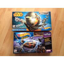 Set 2 Pistas Hot Wheels Star Wars Y Guardianes De La Galaxia