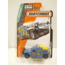 Matchbox Explorers Camioneta Hummer W/ramp Azul