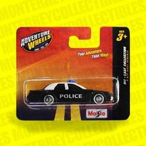 Patrulla Policia Police Car Maisto Tipo Hot Wheels