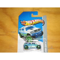 Hotwheels 2013 Rockster Hummer Blanco Tuning Paint New 100%!