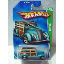 Hot Wheels T Hunt 1937 Ford N0.047 Año 2009 T.l