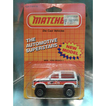 Matchbox - Ford Bronco Ll (de 1986) M.i. Macau